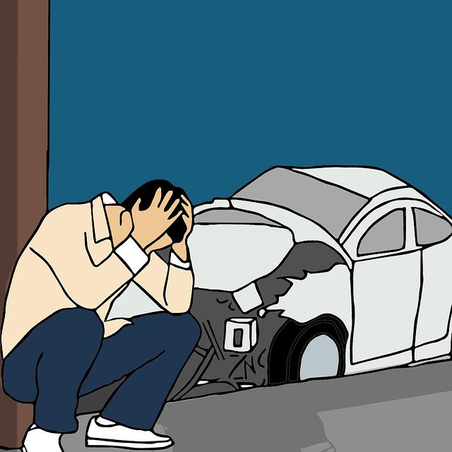 夢占い 車の事故