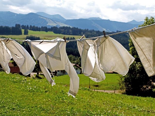洗濯物の夢占い